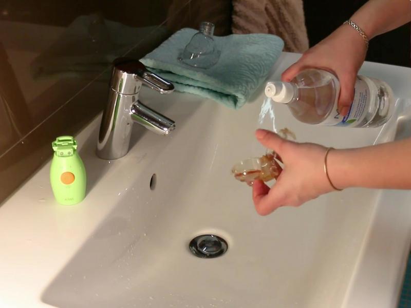 KIWI inhalaatori puhastamine