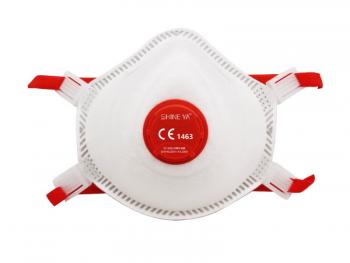 FFP3 respiraator väljahingamisklapiga