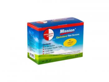Mission kolesterooli testiribad