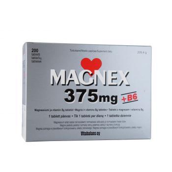 Magnex + vitamiin B6