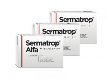 Sperma kvaliteedi parandamiseks Sermatrop Alfa tabletid 3 pakki
