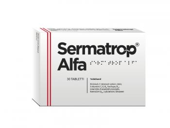 Sperma kvaliteeti parandavad tabletid Sermatrop Alfa