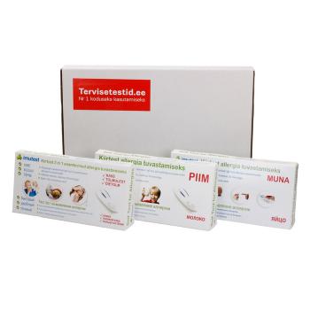 Allergiatestide pakett