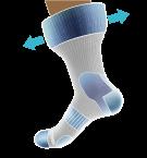 Sokid diabeetikutele PROTECT IT - UUS! Suurus 38-40,5 (mustad)