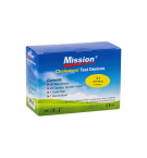 Kolesterooli mõõtmise testribad MISSION 25 testriba