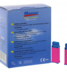 Lantsetid (torkeseade vereproovi saamiseks) Mission 25 tk pakis